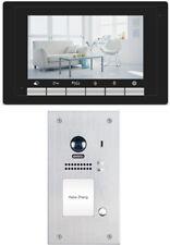 """2 Wire Bus Technik """" Video Door Phone kligelanlage Stainless Steel 2.0 Mega"""