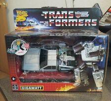 Transformers Gigawatt Back to the Future Mash-Up 35th Anniversary Same Day Ship