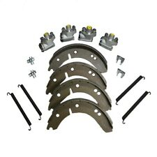 Super Front Brake Kit With Wheel Cylinders Shoes Springs for MG TD TF
