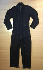 Military Style PWA 27P Cotton Flying Suit Color Black Size Medium BNWOT