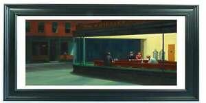 Nighthawks Framed Print 16 x 8 inch frame Edward Hopper