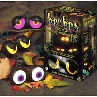 Peep n' Peepers Flashing Eyes Halloween Lights  Spooky Haunted House Prop Ghosts
