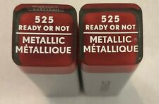 (2) Covergirl Colorlicious Metallic Lipstick, 525 Ready Or Not