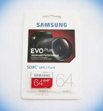 Samsung Evo Plus SDXC UHS-1 Class 10 64GB Speicherkarte spez. für Foto & Video