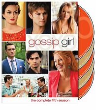 Gossip Girl - The Complete Fifth Season 5 Five (DVD, 5-Disc set) - Brand New!!!