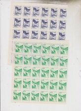 YUGOSLAVIA, 1966 industry,nice accumulation 30 sets,MNH,plate error brown line