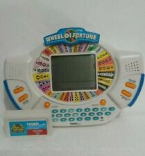New ListingVtg 90's Toy Wheel of Fortune Tiger Electronic Hand Held Game Deluxe Cartridge
