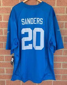 Nike Detroit Lions Barry Sanders #20 NFL Football Jersey 907195-491 - Size 3XL