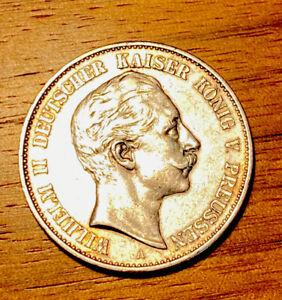 2 Mark Preussen 1901 Deutsches Reich J. 104