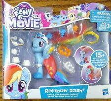 🐾🐴 Rainbow Dash My Little Pony Land & Sea Snap-on Fashion🐴🐾MLP
