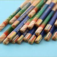 New Wood Drawing 10pcs Pen Color 4 In 1 Colored Pencil Pencils Pencil Rainbow