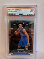 2019-20 Panini Prizm Isaiah Roby Dallas Mavericks NBA Rookie PSA 9