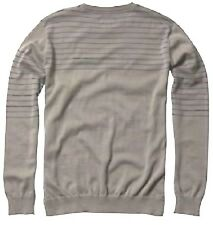 $55 NEW FOX RACING MEN ROMAN GRAPHITE L/S SWEATER PULLOVER SHIRT LARGE H76