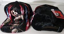 Harley Quinn Batman  Dc Comics Sublimated Velvet Snap Back Hat Nwt