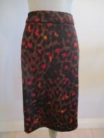 NWT PREMISE WOMAN 3X BLACK W/BROWN/RED MULTI COLOR SKIRT MSRP $68.00