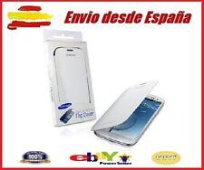 Funda Flip Cover Tapa Libro Para Samsung Galaxy S3 SIII S 3 i9300 Blanca Caja