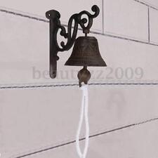 Traditional Vintage Metal Cast Iron Home Door Bell Wall Mounted Garden Doorbell