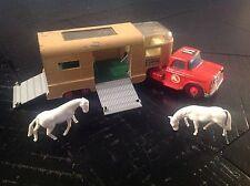 Vintage Matchbox Super King K-18A-5 Articulated Horse Van please see below.