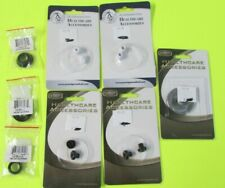 Prestiage Medical Stethoscope Replacement Accessory Lot Of 8 Eartips,Bells,Disc