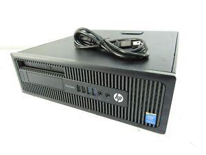HP ProDesk 400 G1 SFF Intel Core i5-4590 @ 3.30GHz 8GB RAM 500GB DVDRW