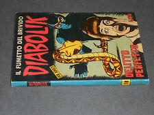 DIABOLIK Prima Serie Anno III nr.18 originale 1^ edizione Sodip - Q. ECCELLENTE