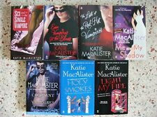 # 1 -  9 KATIE MACALISTER PARANORMAL BOOKS NO DOUBLES FREE SHIPPIN
