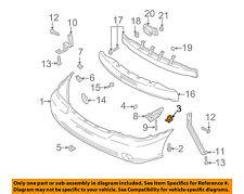 KIA OEM 02-05 Sedona FRONT BUMPER-Cover Assembly Grommet MGA7B500Z5