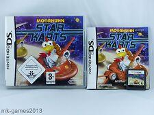 Moorhuhn Star Karts für Nintendo DS/Lite/XL/3DS - OVP+Anl. - Sehr gut