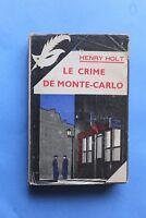 MASQUE JAQUETTE Poste de Police 133 Henry Holt Le Crime de Monte-Carlo
