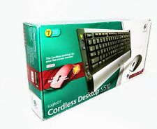 Logitech Cordless Desktop S510 Wireless Keyboard and Mouse Combo