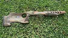 10/22 Ruger Takedown CAMO PALADIN stock & FANCY stippling for factory barrel