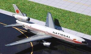 Gemini Jets - National DC-10-30  GJNAL169  Scale 1:400
