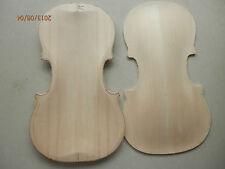 4/4 violin old spruce top half finished