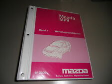 Werkstatthandbuch Elektrik Schaltpläne Mazda MPV, Stand 05/2002