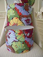 Handmade Lampshade - Kaffe Fassett Lotus Leaf Antique fabric