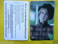 1997 phone cards 75P lady diana princess diana spencer telefoniche telefonkarten