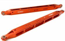 Integy Alloy Rear Lower Links for Axial 1/8 Yeti XL Rock Racer Buggy Red