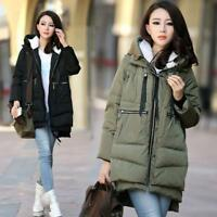 Winter Womens warm thicken down cotton coat Hooded Jacket Puffer Parkas Fashion