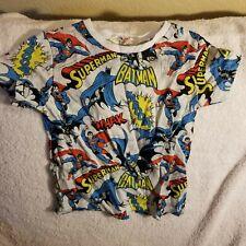 DC COMICS SHIRT - BABY/TODDLER 2-4 - BATMAN & SUPERMAN