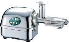 Angel Juicer 7500 exprimidor de acero inoxidable jugo de prensa incl. dos botellas de jugo de uva