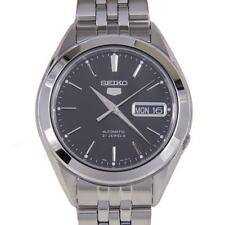 Seiko SNKL23 Stainless Steel Automatic Men's Wristwatch - Silver