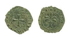pcc1575_4) MESSINA. Carlo I d'Angiò (1266-1282) Denaro del 1277 gr 0,64 Spahr 53