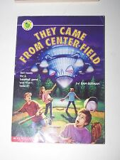 They Came from Center Field by Dan Gutman 1995 pb get ready for a baseball game