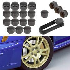 20x Lug Center Nut Covers Caps + Wheel Locking Bolt Cover For VW Skoda Audi Seat
