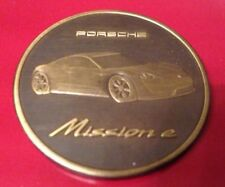 Porsche Münze Kalendermünze Calender Coin Uncovered 2017 Mission e, wie neu