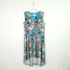 Chico's Artistic Multicolor Paisley Maxi Dress