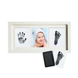 1Set Footprint Imprint Kit Baby Ink Newborn Photo Baby Souvenir Handprint
