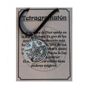 Collar Tetragramaton. Tetragamatron Necklace.