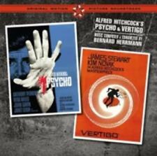 BERNARD HERRMANN: PSYCHO & VERTIGO / O.S.T. (CD.)