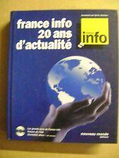 France Info panorama de 20 ans d'actualité de radio + CD Trésor de L'INA /Z41